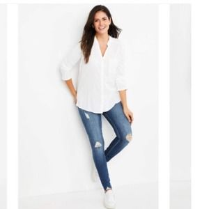 ARTICLES OF SOCIETY NWT SKINNY MATERNITY JEANS 28